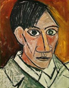 Pablo-Picasso-Self-Portrait-Chronology_05