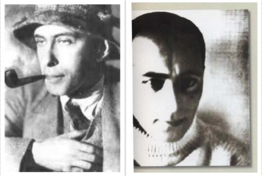 Ilya Ehrenburg und El Lissitzky